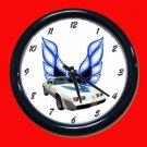 New White 1979 Pontiac Trans AM Wall Clock