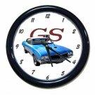 New Blue 1970 Buick Gran Sport Wall Clock