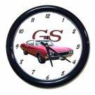 New Red 1968 Buick Gran Sport Wall Clock