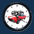 New Red/White 1970 Chevy Chevelle SS Wall Clock