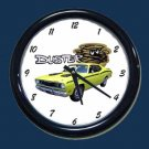 New Yellow 1971 Plymouth Duster Wall Clock