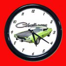 New Lime 1974 Dodge Challenger Wall Clock