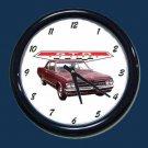 New Maroon 1964 Pontiac GTO Wall Clock