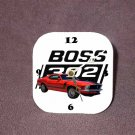 New Red 1970 Ford Boss Mustang Desk Clock