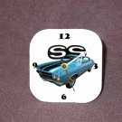 New Blue 1970 Chevy Chevelle SS Desk Clock