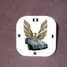 New Green 1977 Pontiac Trans AM Desk Clock