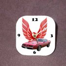 New Red 1979 Pontiac Formula Firebird Desk Clock