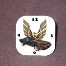 New Brown 1979 Pontiac Trans AM Desk Clock