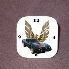 New Black 1979 Pontiac Trans AM Desk Clock