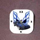 New Dk. Blue w/o Eagle 1979 Pontiac Trans AM Desk Clock