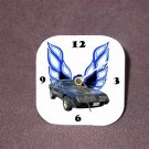 New Dk. Blue Eagle 1979 Pontiac Trans AM Desk Clock