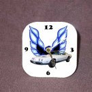 New White/Blue 1979 Pontiac Formula Firebird Desk Clock