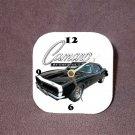 New Black 1967 Chevy Camaro RS/SS Desk Clock