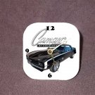 New Black 1969 Chevy Camaro RS/SS Desk Clock