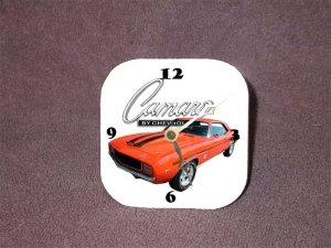 New 1969 Orange Chevy Yenko Camaro Desk Clock
