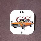 New 1971 Bronze Buick Gran Sport Desk Clock