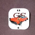 New 1972 Orange Buick Gran Sport Desk Clock