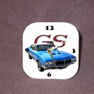 New 1970 Blue Buick Gran Sport Desk Clock