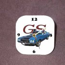 New 1971 Blue Buick Gran Sport Desk Clock