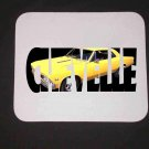 New Yellow 1966 Chevy Chevelle w/ letters Mousepad!