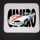 New 1997 30th Anniversary Chevy Camaro Convertible Camaro w/ letters Mousepad