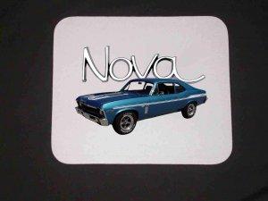 New Blue 1969 Chevy Yenko Nova Mousepad!