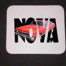 New 1972 Chevy Nova SS  w/ letters Mousepad!