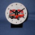 New  1967 Orange/Red Pontiac Firebird  desk clock!