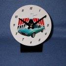 New  1968 Turquoise Pontiac Firebird  desk clock!