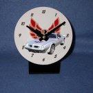 New Silver 1975 Pontiac Firebird Trans AM desk clock!