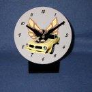 New Yellow 1976 Pontiac Firebird Trans AM desk clock!