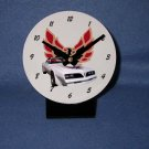 New White 1977 Pontiac Firebird Trans AM desk clock!