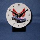 "New Black and Red 1978 Pontiac Firebird Trans AM ""Bandit"" desk clock!"
