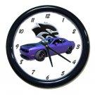 New Dodge Challenger Hellcat Wall Clock