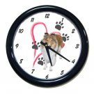 New Collie Wall Clock