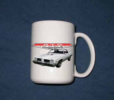 New Huge 15 Oz.  1973 Pontiac GTO  Mug