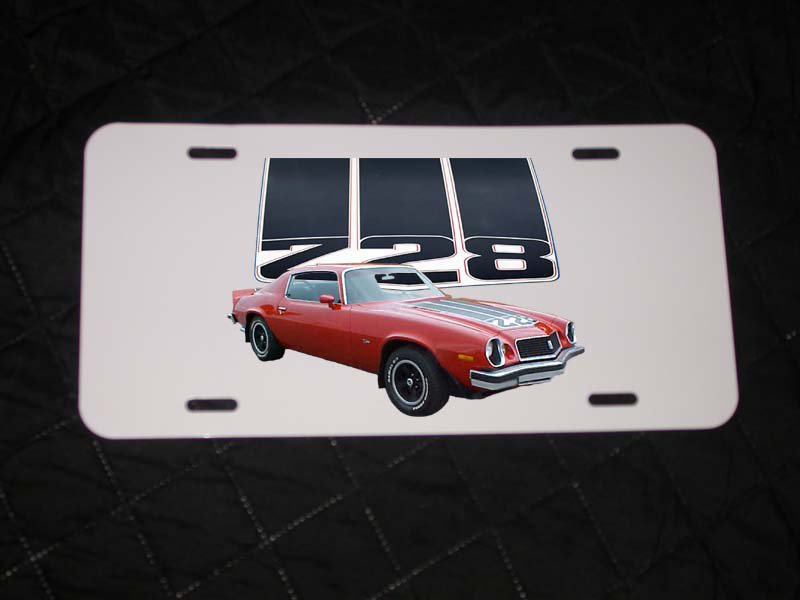 NEW 1974 Chevy Camaro Z28 License Plate FREE SHIPPING!