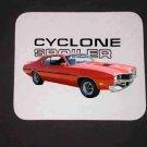 New Orange 1970 Mercury Cyclone Spoiler Mousepad!