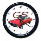 New Red 1969 Buick Gran Sport Wall Clock