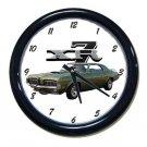 New 1970 Mercury Cougar XR7 Wall Clock