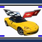 NEW 2008 Chevy Corvette License Plate FREE SHIPPING!
