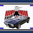 NEW 1968 Pontiac Firebird convertible License Plate FREE SHIPPING!