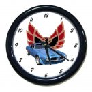 New 1970 Pontiac Formula Firebird Wall Clock