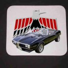 New 1968 Pontiac Firebird convertible Mousepad!