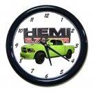 New 2017 Lime Dodge Ram Hemi 1500 Wall Clock