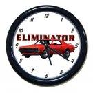 New 1969 Mercury Cougar Eliminator Wall Clock