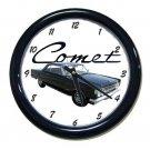 New 1964 Mercury Comet Wall Clock