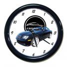 New 2005 Black Chrysler Crossfire Wall Clock