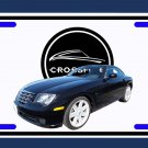 NEW  2005 Black Chrysler Crossfire License Plate FREE SHIPPING!