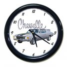 New 1972 Chevy Chevelle Wall Clock